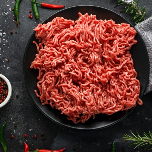 Lean minced beef