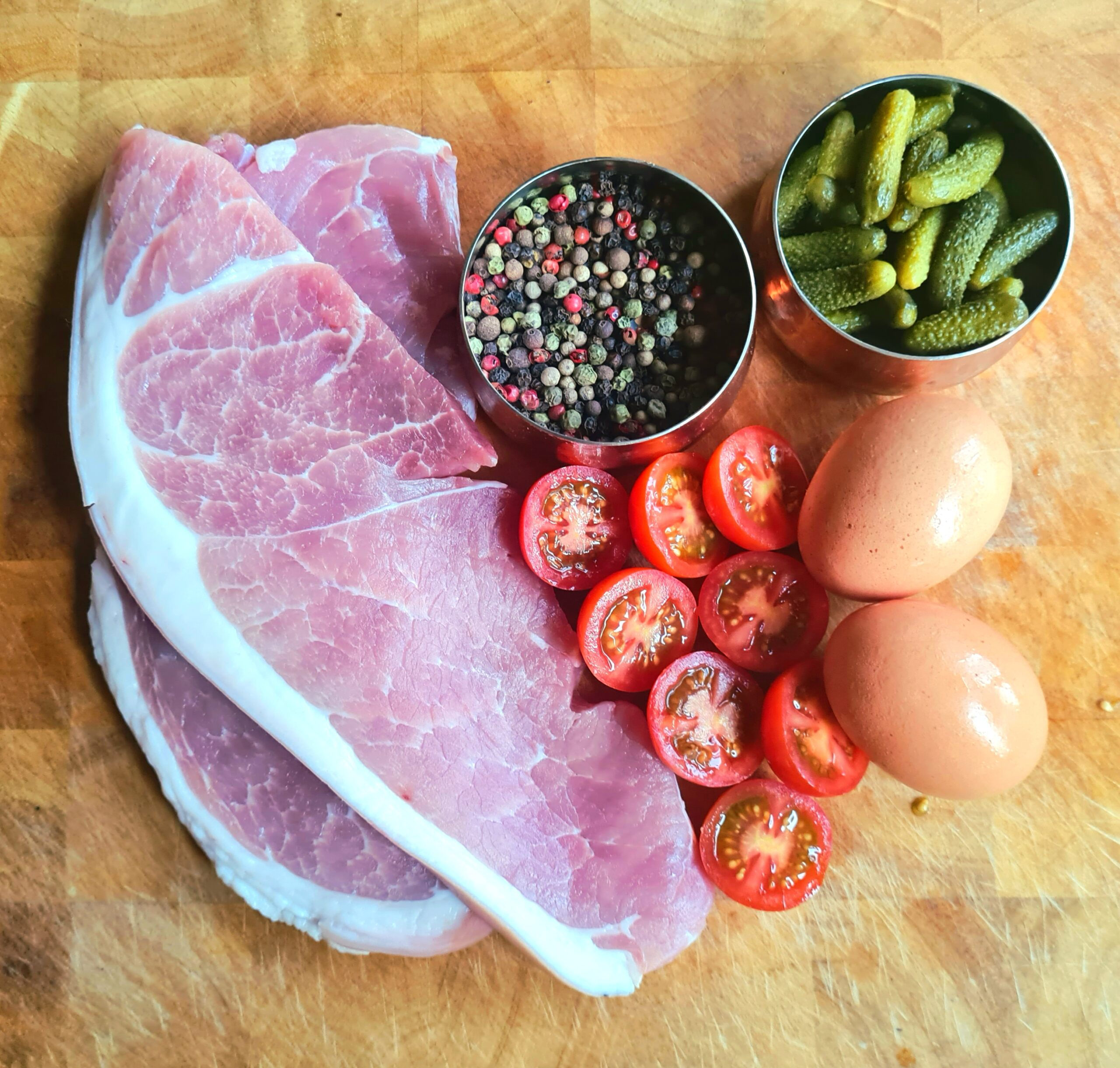 tasty d cut gammon steaks from meat and co