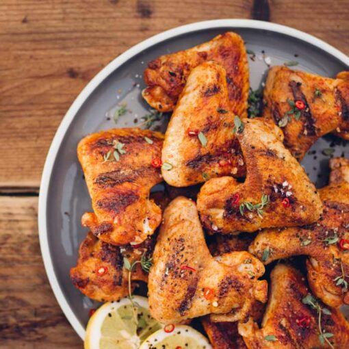 Salt & Pepper Chicken Wings