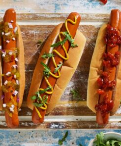 Plant Based Hot Dogs