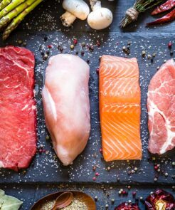 Meat & Fish Fitness box